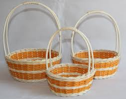 wicker easter baskets home of eco friendly easter baskets wicker baskets