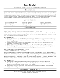 Public Relations Resume Examples by Student Affairs Resume Samples Free Resume Example And Writing