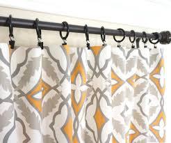 Orange Kitchen Curtains Sale Orange Window Curtains Grey Curtain Panels Orange Kitchen