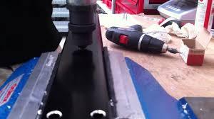 guide of fixing a rottefella binding on a barnett roller ski youtube