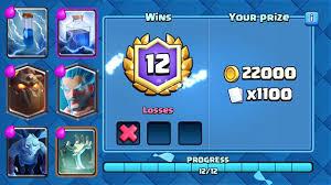 Best Challenge Clash Royale The Best 12 Win Challenge Deck