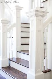 Banister Stair Best 25 Craftsman Staircase Ideas On Pinterest Craftsman Irons