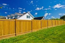 Backyard Fencing Cost - wood fence vs chain link fence fence cost comparison