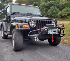jeep winch bumper affordable prerunner winch front bumper jeep cj yj tj lj u002754 u002706