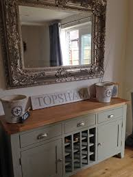 kitchen sideboard ideas caldecote grey sideboard with wine rack grey wine