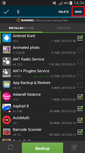 backup and restore apk xperia guide how to backup restore android apps no root required