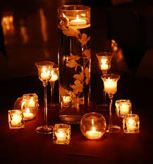 Candle Centerpiece Wedding Fall Wedding Candle Centerpiece Ideas Fall Wedding Pinterest