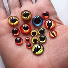 paint your own evil eye cabochons for jewelry making the beading