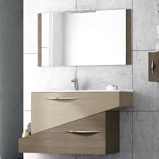 Bathroom Vanities And Mirrors Sets Abella 38 Inch Modern Single Sink Bathroom Vanity Set With Mirror