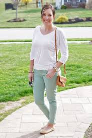 Mint Colored Skinny Jeans Fashion For Women Over 40 Daily Inspiration Color Skinny