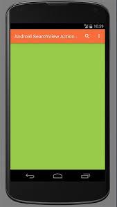 tutorial android menu bar android searchview action bar tutorial java tutorial blog