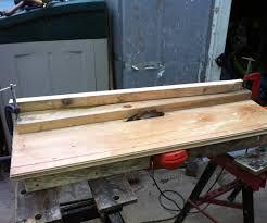 Wood Saw Table Home Made Table Saws