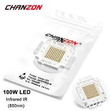 aliexpress com buy 100w led light bulb lamp ir infrared 850nm 14