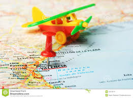 La Airport Map Valencia Spain Map Airport Stock Photo Image 52573574