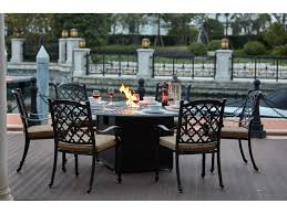 Darlee Patio by Darlee Outdoor Living Standard Madison Cast Aluminum 7 Piece