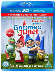 gnomeo juliet 3d includes 3d 2d copy blu ray zavvi