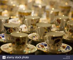 Beautiful Coffee Cups Istanbul Turkey Beautiful Coffee Tea Cups Stock Photo Royalty