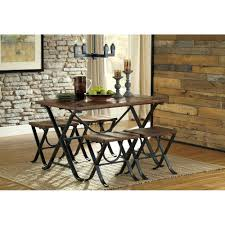 5 piece dining set freimore barn wood metal rc willey 5 piece dining set freimore barn wood metal rc willey furniture store