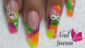nail decoration step by step how to make 3d acrylic frog special
