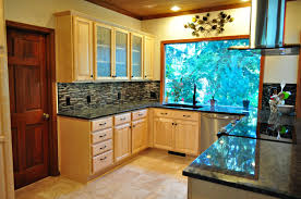 Home Kitchen Remodeling Kitchen Eugene Kitchen Remodeling Contractor Room Open Cabinet