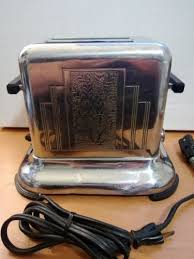 Art Deco Toaster 96 Best Vintage Toasters Images On Pinterest Toasters Vintage