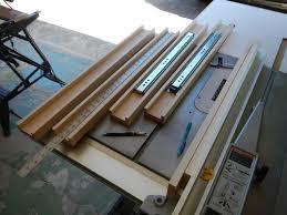 table extension slide mechanism dining table extension slides by davesj lumberjocks com