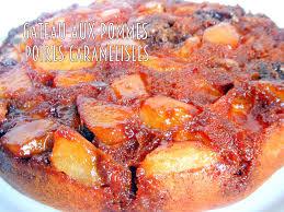 la cuisine de djouza gateau pommes poires caramélisées facile recettes faciles
