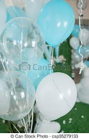 large white balloons blue and white balloons large balloons in blue white and
