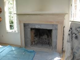 installing a newport fireplace mantle a concord carpenter