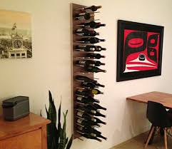 unique wine rack for contemporary family room design nytexas