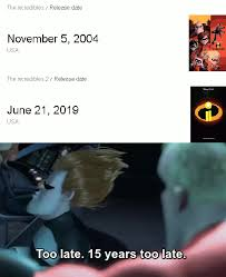 The Incredibles Memes - 15 years too late the incredibles know your meme