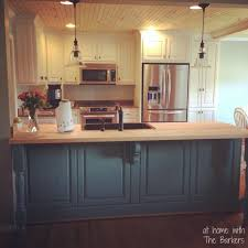 Glazed Kitchen Cabinets At Home With The Barkers - Kitchen cabinet glaze
