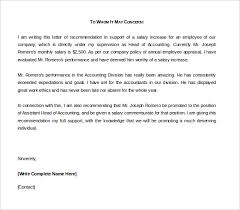 employment reference letter template 20 employee recommendation