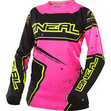 womens motocross riding gear o u0027neal element women pink motocross dirtbike gear 2017