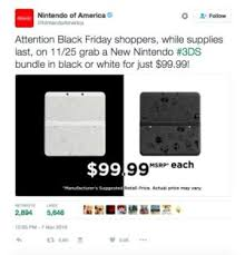 3ds xl black friday amazon new nintendo 3ds price slashed on black friday to 100 network world