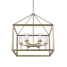 Jefferson 9 Light Chandelier Traditional - golden lighting u0027s smyth 6 light chandelier white gold u0026 clear