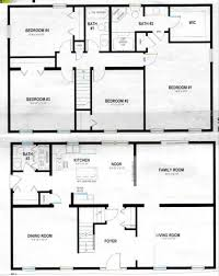 house plans two story sophisticated two story house plan contemporary best inspiration