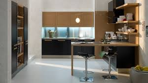 Kitchen Cabinets With Open Shelves Kitchen Design Small California Kitchen Design With Black And