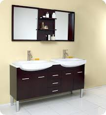 Double Vanity Lowes Vanities Fresca Vetta Espresso Modern Double Sink Vanity Double