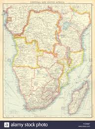 Congo Africa Map Central And South Africa Belgian Congo Tangyanika Territory