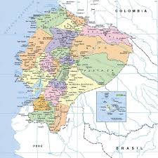 Map Of Spain With Cities map of ecuador with cities ecuador map with cities vidiani com