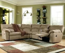 sectional leather reclining sectional sleeper sofa behold summit