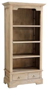 Small Rustic Bookcase Jordan Small Bookcase Rustic Mango Gray Wash Bookcases By