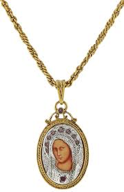 the vatican library collection free catholic gifts with gold medallion necklaces from