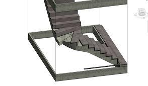 Stair Tread by Revitcity Com Custom Stair Tread Profile Vs Default Tread Profile