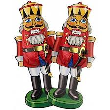 Life Size Nutcracker Outdoor Christmas Decorations Uk by Chocolate Nutcracker Soldiers Christmas Sweets X5 Soldiers Amazon