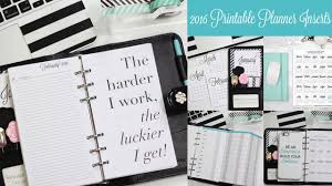 free printable life planner 2015 new 2016 printable filofax inserts the charmed life personal