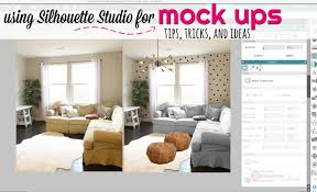 home design app tips and tricks tips for silhouette studio for home decorating mock ups