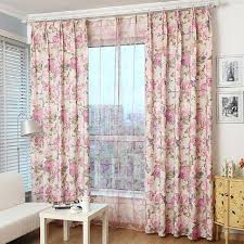 Country Style Window Curtains Aliexpress Buy Blackout Curtain For Living Room Bedroom