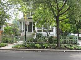 modern front yard fences garden design pinterest modern
